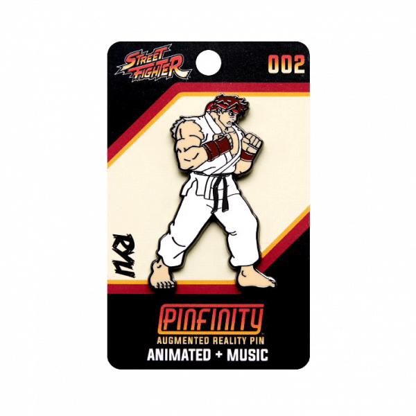 "Street Fighter AR Pin ""Ryu"""