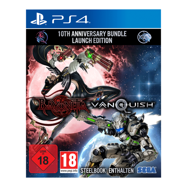 Bayonetta & Vanquish 10th Anniversary Bundle Limited Edition - PS4