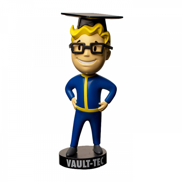 FALLOUT VAULT 76 SPECIAL BOBBLEHEAD INTELLIGENCE