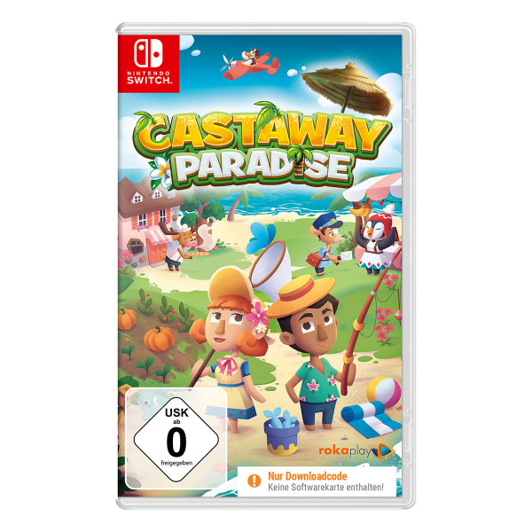 Castaway Paradise (Code in a Box) - Switch