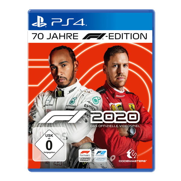 F1 2020 70 Jahre F1 Edition - PS4