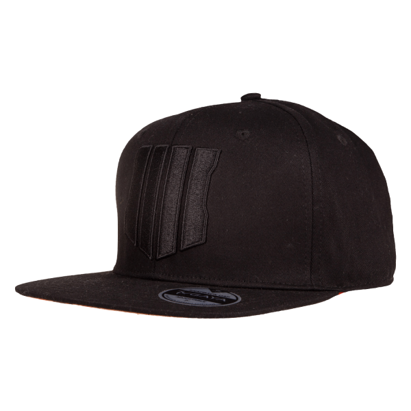CALL OF DUTY BLACK OPS 4 SNAPBACK LOGO BLACK