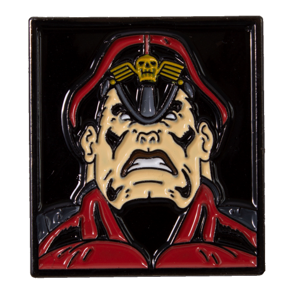 Street Fighter Metal Pin M.Bison