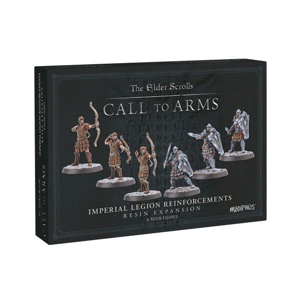 """The Elder Scrolls Call to Arms """"Imperial Legion Reinforcements Resin Expansion"""""""