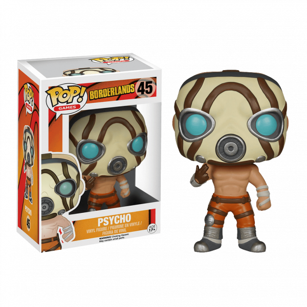 BORDERLANDS FIGUR PSYCHO POP VINYL