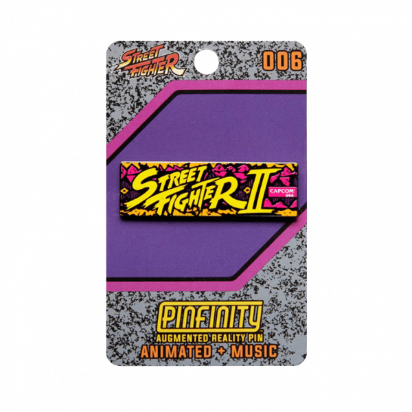 "Street Fighter AR Pin ""Marquee"""