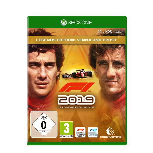 F1 2019 Legends Edition - XONE