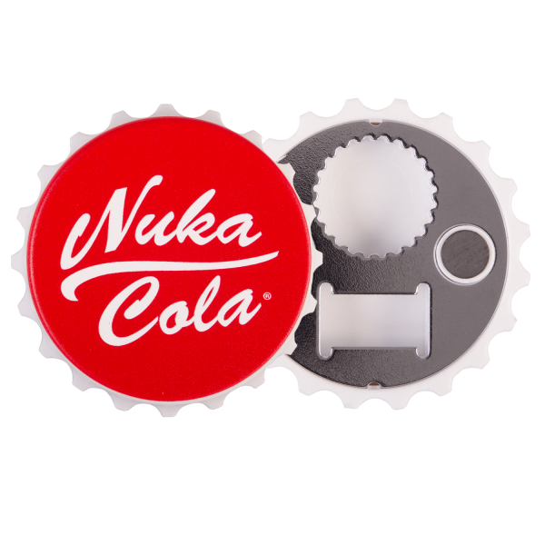 FALLOUT BOTTLE OPENER NUKA COLA BOTTLE CAP