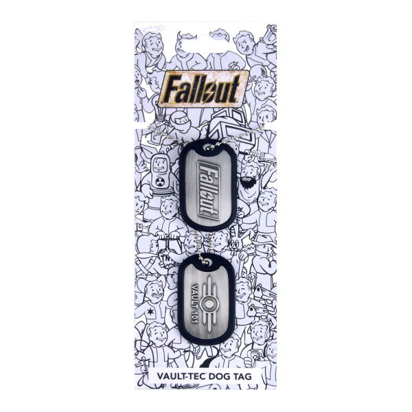 Fallout Dog Tags Vault 101