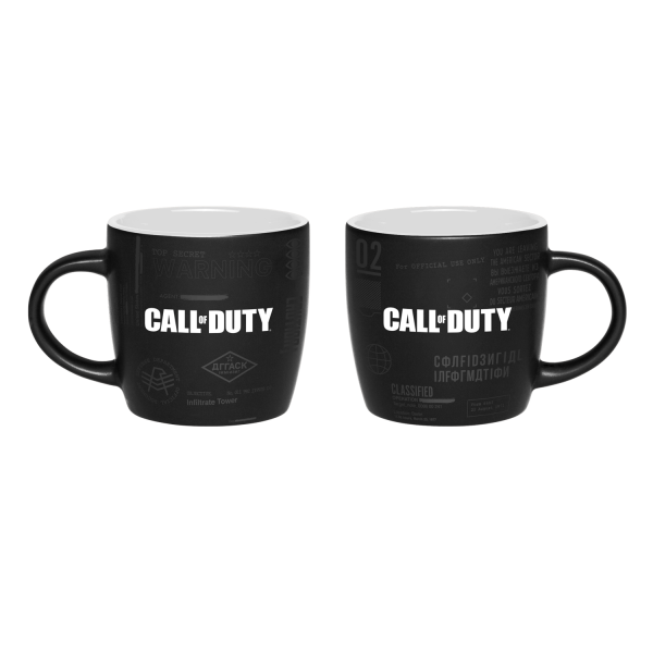 "Call of Duty: Cold War Two Colored Mug ""Top Secret Documents"""