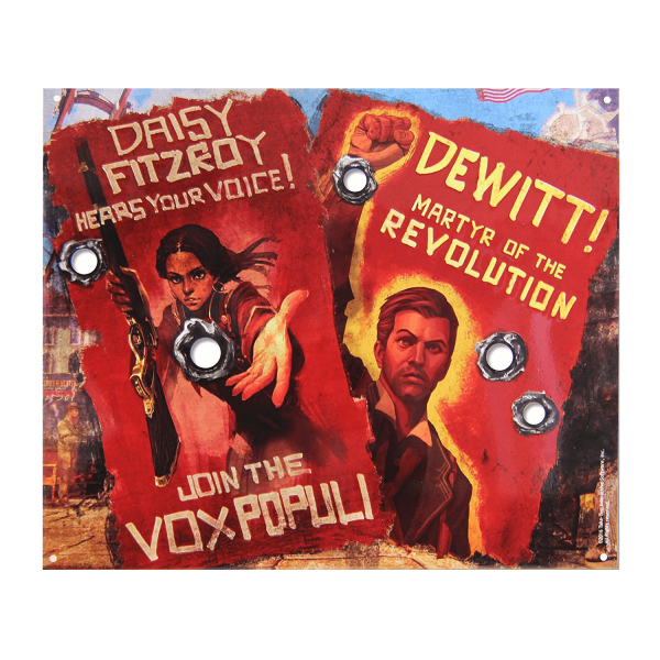 "Bioshock Tin Sign ""Vox Revolution"""