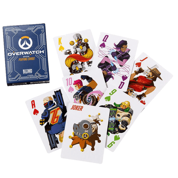 OVERWATCH PLAYING CARDS HEROES