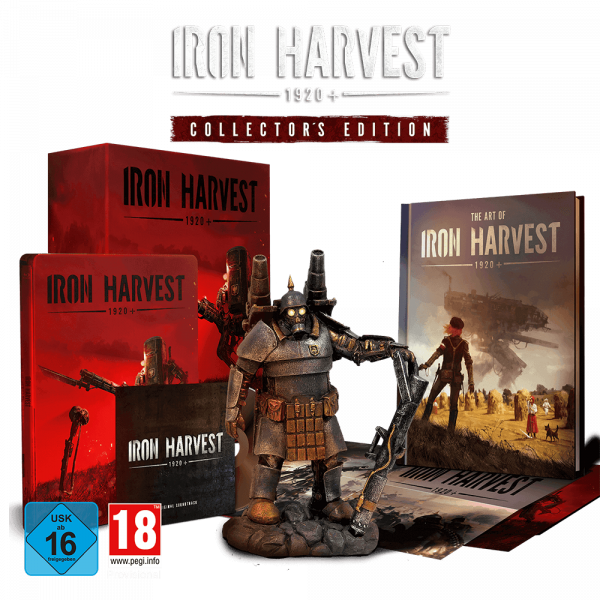 IRON HARVEST COLLECTORS EDITION
