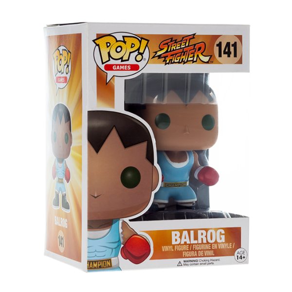 Street Fighter Figure Balrog POP! Vinyl