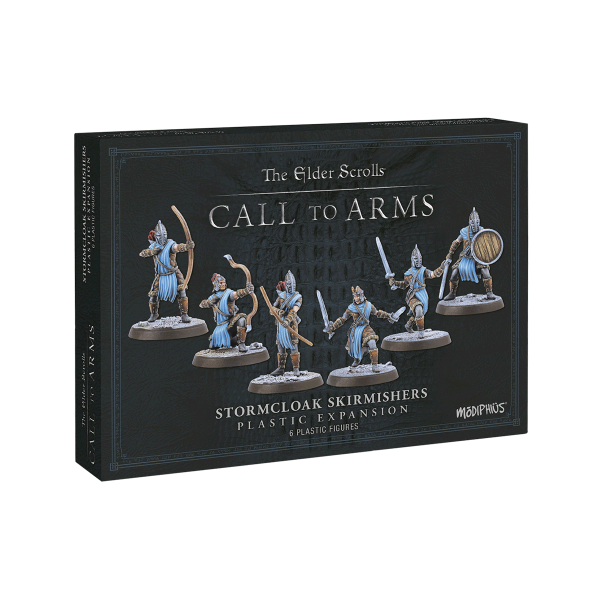 """The Elder Scrolls Call to Arms """"Stormcloak Skirmishers Resin Expansion"""""""