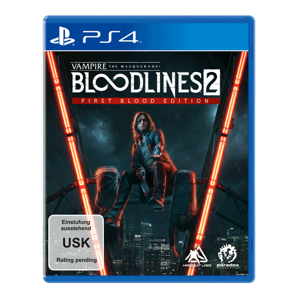Vampire: The Masquerade Bloodlines 2 First Blood Edition - PS4