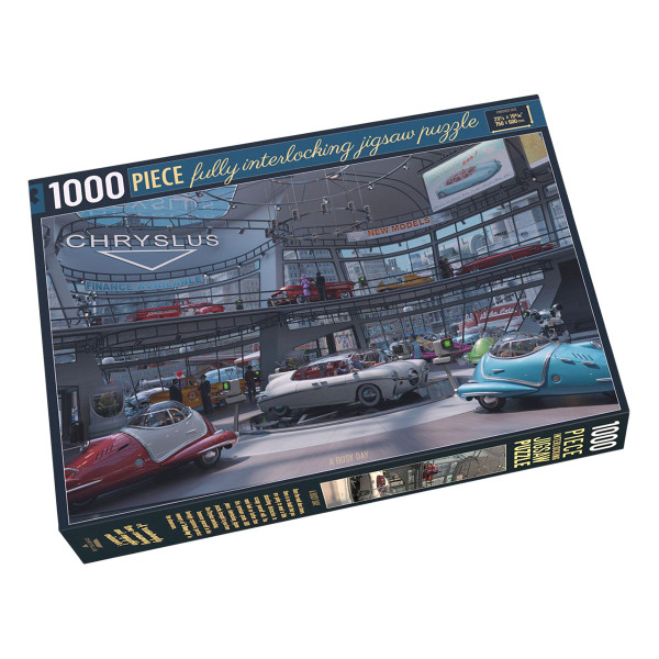 """Fallout Chryslus Jigsaw Puzzle """"A Busy Day"""""""