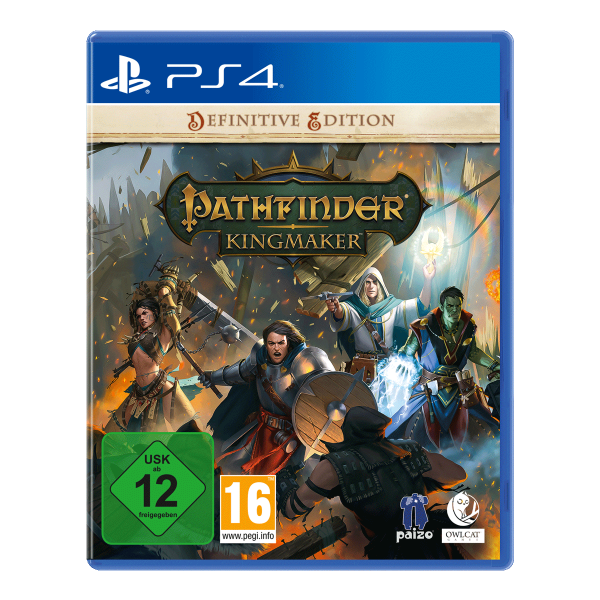 Pathfinder: Kingmaker Definitive Edition - PS4