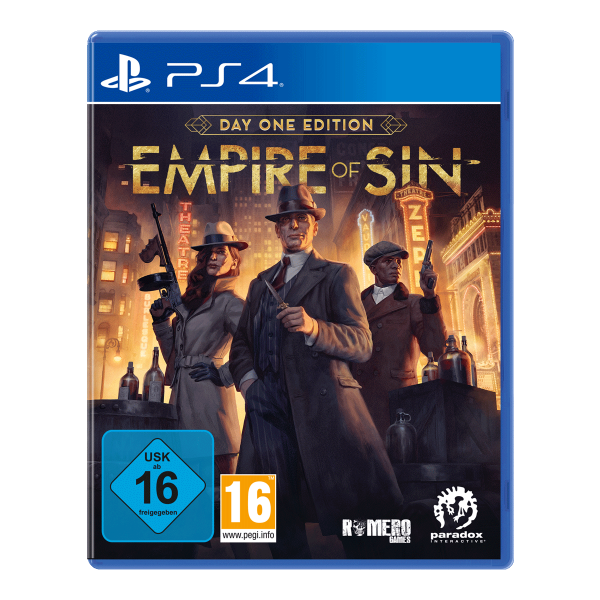 Empire of Sin Day One Edition - PS4