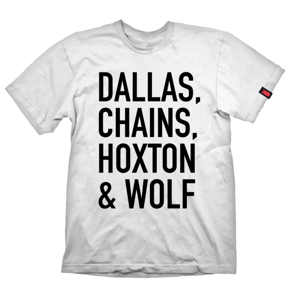 "Payday 2 T-Shirt ""Dallas Chains Hoxton & Wolf"""