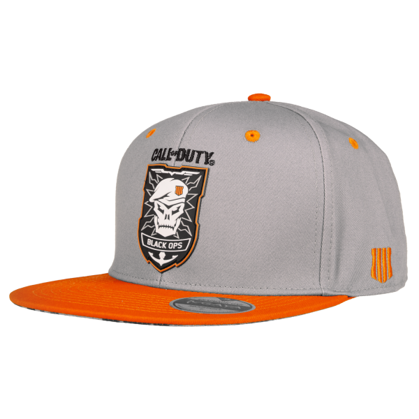 CALL OF DUTY BLACK OPS 4 SNAPBACK PATCH GREY