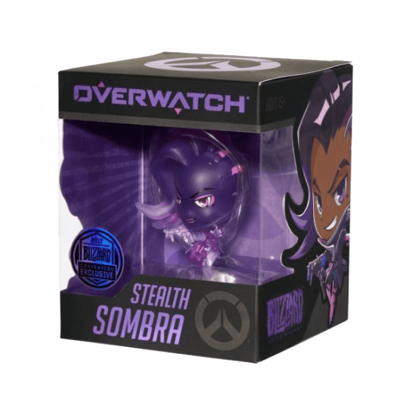OVERWATCH FIGURE SOMBRA STEALTH CONVENTION EXCLUSIVE CUTE BU