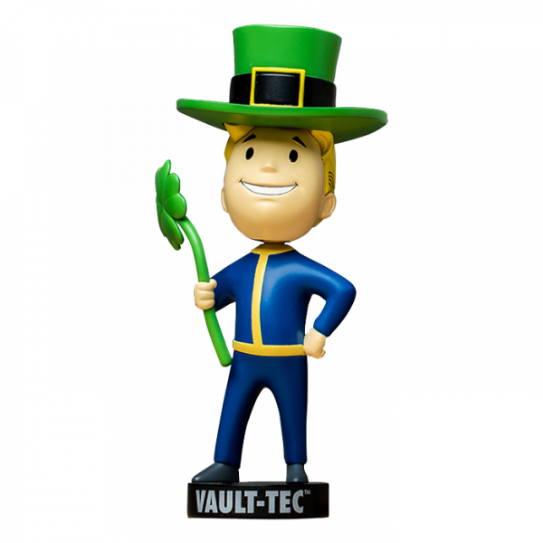 FALLOUT VAULT 76 SPECIAL BOBBLEHEAD LUCK