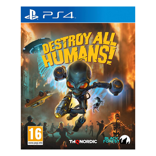 Destroy All Humans! Crypto-137 Edition - PS4