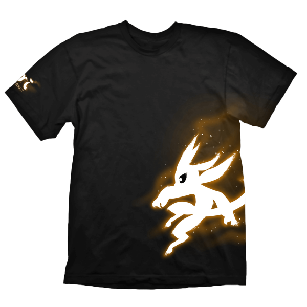 ORI AND THE BLIND FOREST T-SHIRT ORANGE GLOW