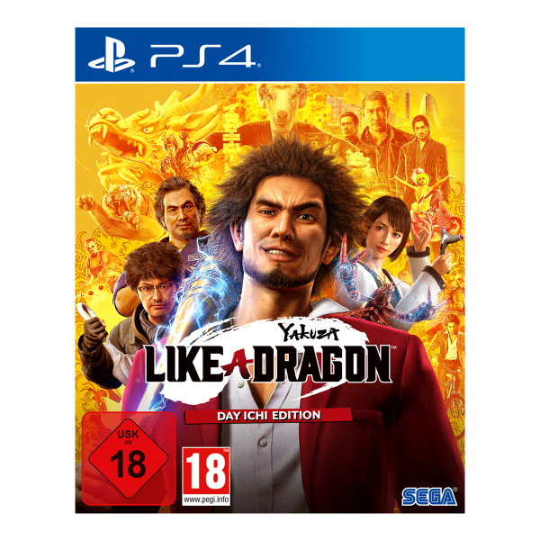 Yakuza 7: Like a Dragon - Day Ichi Edition - PS4