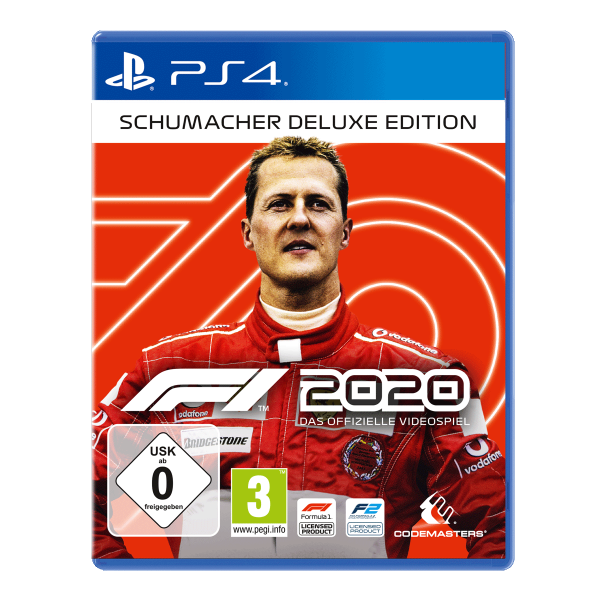 F1 2020 Schumacher Deluxe Edition - PS4