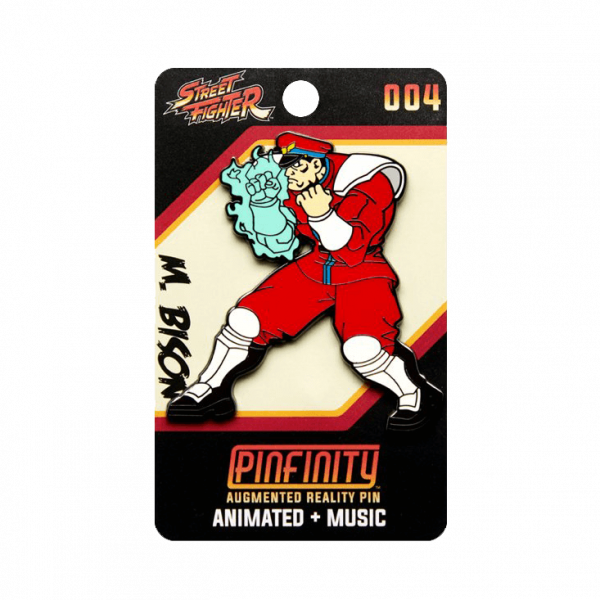 "Street Fighter AR Pin ""M Bison"""