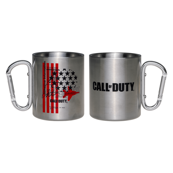 "Call of Duty: Cold War Camping Mug ""Fly Over"""