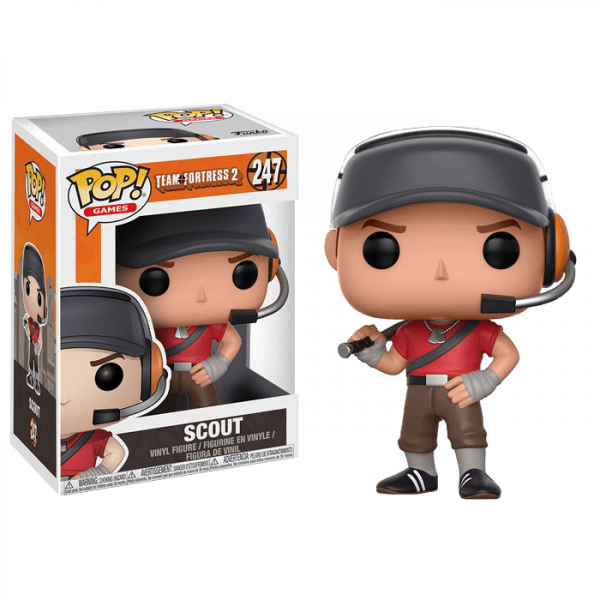TEAM FORTRESS 2 FIGURE SCOUT POP VINYL
