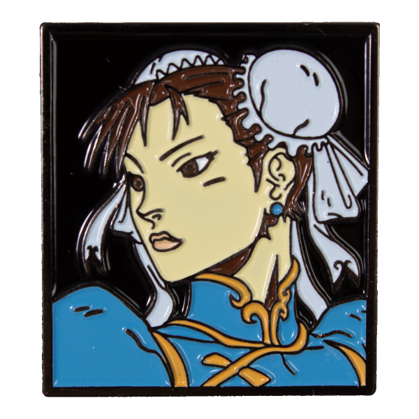 Street Fighter Metal Pin Chun-Li