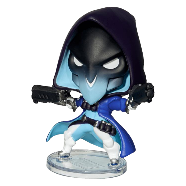 "Overwatch Figure ""Shiver Reaper"" Cute but Deadly"