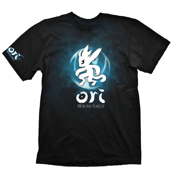 ORI AND THE BLIND FOREST T-SHIRT BLUE ORI ICON