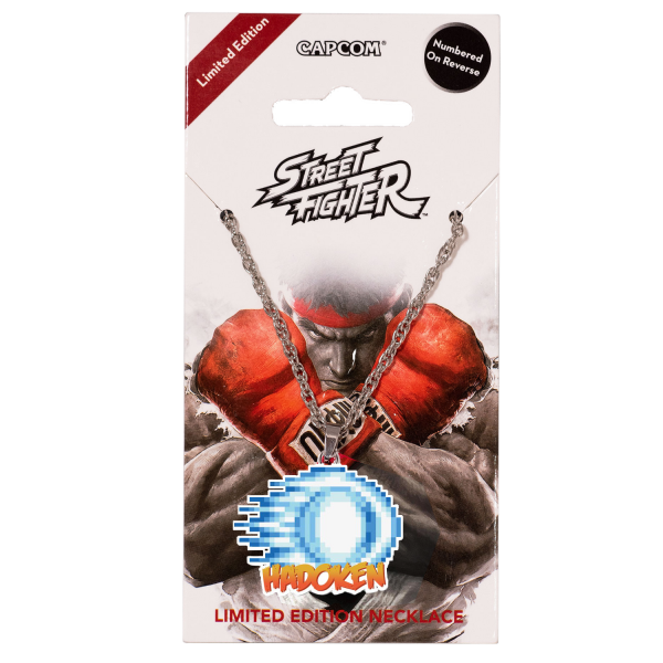 STREET FIGHTER NECKLACE HADOKEN LIMITED