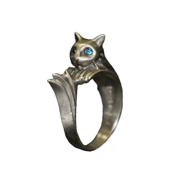 DARK SOULS REPLICA SILVERCAT RING