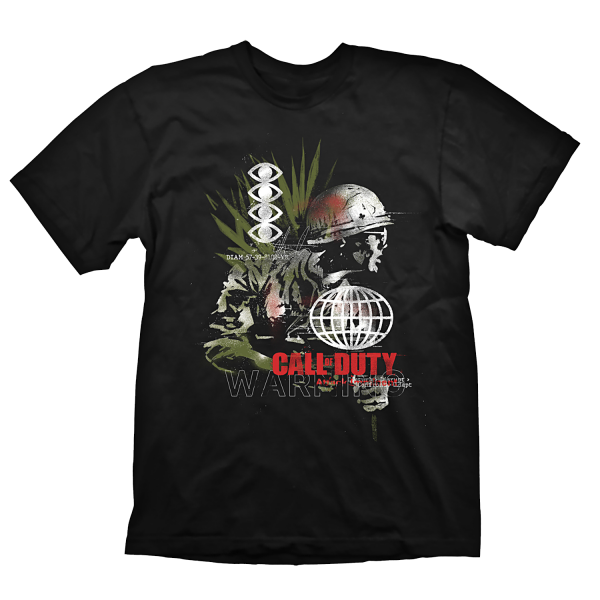 "Call of Duty: Cold War T-Shirt ""Army Comp"" Black"