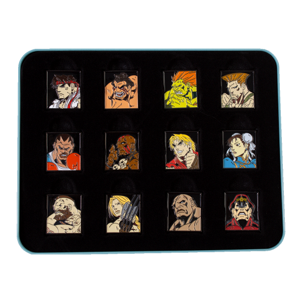 Street Fighter Collector Tin Box Characters