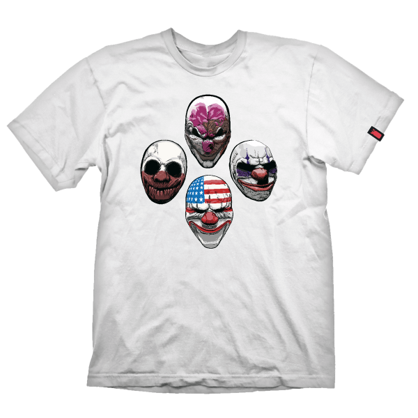 "Payday 2 T-Shirt ""The Four"""
