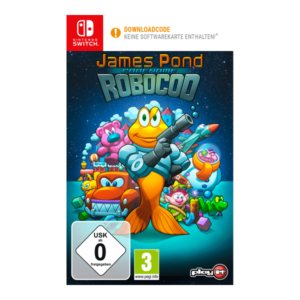 James Pond 2 - Codename Robocod - Switch