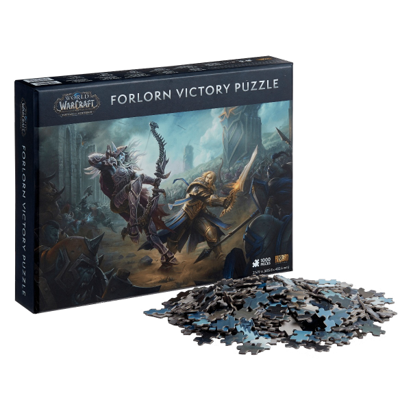 """World of Warcraft Puzzle """"Forlorn Victory"""""""