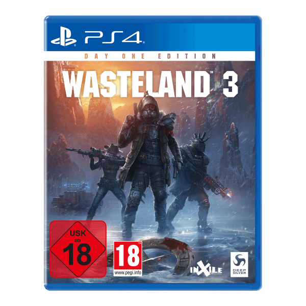 Wasteland 3 Day One Edition - PS4