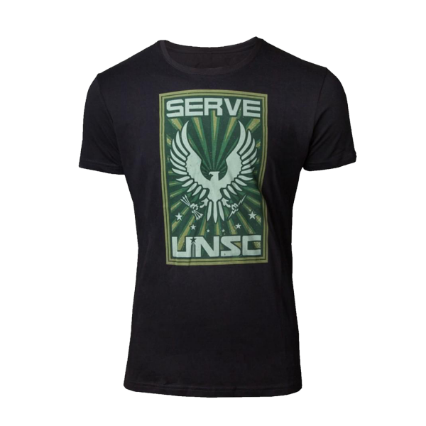 HALO T-SHIRT SERVE UNSC