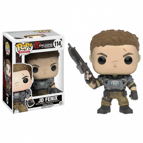 "Gears of War Figure ""JD"" Armored Ed. POP! Vinyl"