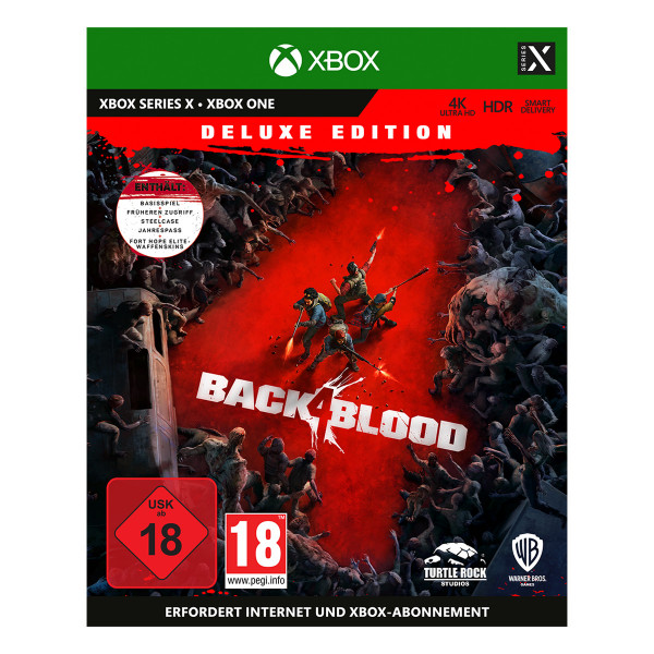Back 4 Blood Deluxe Edition - XONE