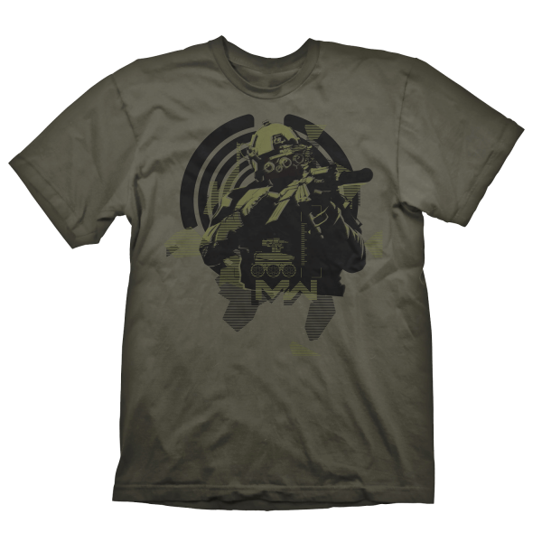 CALL OF DUTY MODERN WARFARE T-SHIRT SOLDIER IN FOCUS