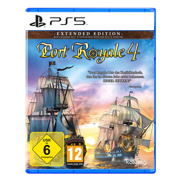 Port Royale 4 - Extended Edition - PS5